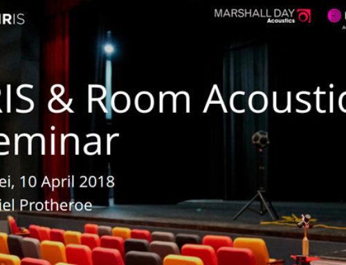 The listening Room: auralisation & visualisation – Taipei, 10 April 2018